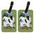 Pair of 2 Japanese Chin Luggage Tags by Caroline's Treasures