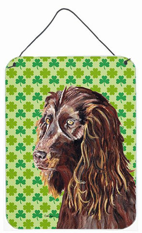 Buy this Boykin Spaniel St Patrick's Irish Aluminium Metal Wall or Door Hanging Prints