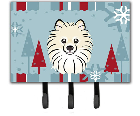 Buy this Winter Holiday Pomeranian Leash or Key Holder BB1703TH68