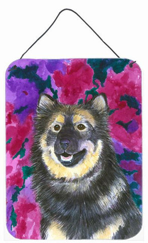 Buy this Finnish Lapphund Aluminium Metal Wall or Door Hanging Prints