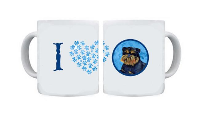Brussels Griffon  Dishwasher Safe Microwavable Ceramic Coffee Mug 15 ounce by Caroline's Treasures
