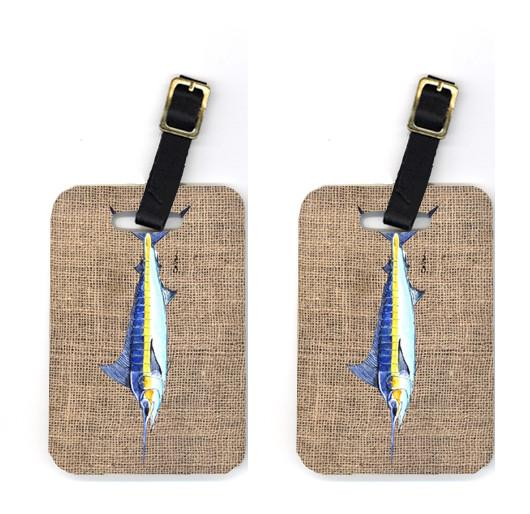 Buy this Pair of Fish - Marlin Luggage Tags