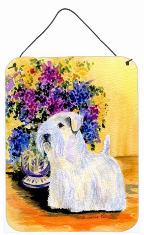 Buy this Sealyham Terrier Aluminium Metal Wall or Door Hanging Prints