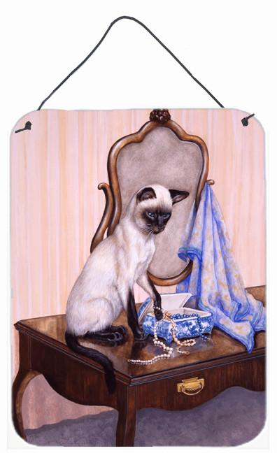 Buy this On The Dresser Siamese cat Wall or Door Hanging Prints BDBA0242DS1216