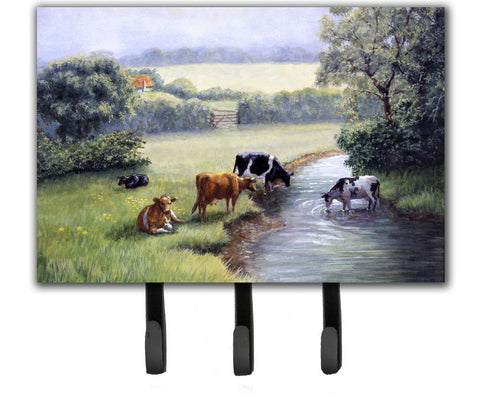 Buy this Cows Drinking at the Creek Bank Leash or Key Holder BDBA0350TH68
