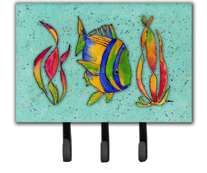 Buy this Tropical Fish on Teal Leash or Key Holder