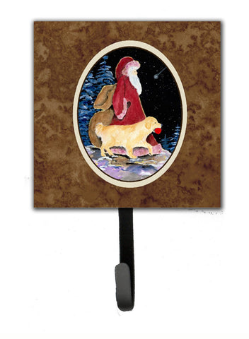 Buy this Santa Claus with  Golden Retriever Leash Holder or Key Hook