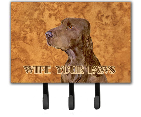 Buy this Field Spaniel Wipe your Paws Leash or Key Holder