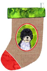 Buy this Portuguese Water Dog Christmas Stocking SS2058