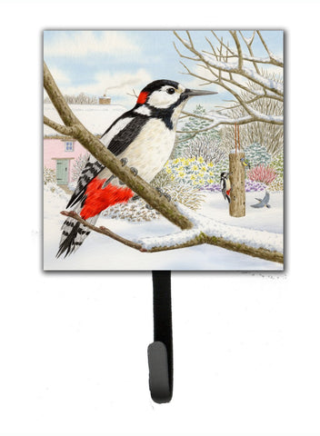 Buy this Spotted Woodpecker by Sarah Adams Leash or Key Holder ASAD0701SH4
