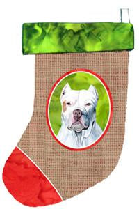 Buy this Pit Bull Christmas Stocking SC1021