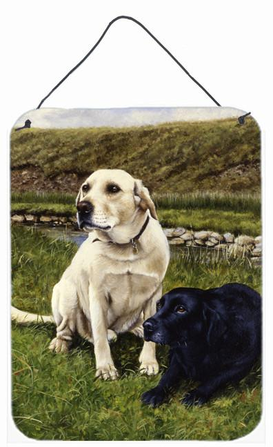 Buy this Yellow and Black Labradors Wall or Door Hanging Prints FRF0018DS1216