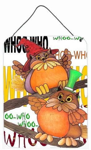Buy this Whoo Who Owl Wall or Door Hanging Prints PJC1032DS1216