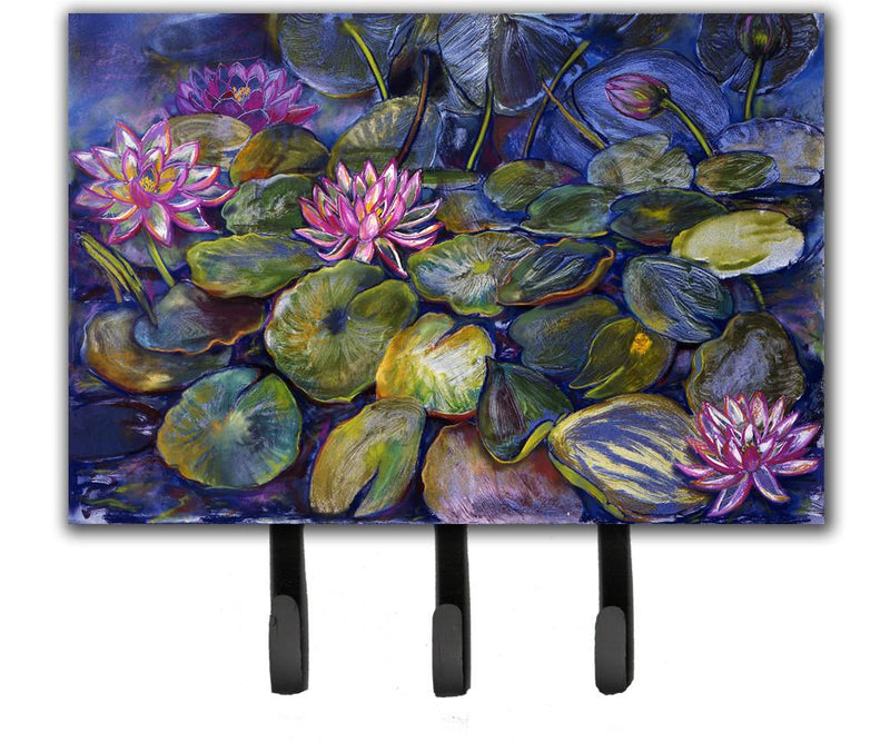 Buy this Waterlilies by Neil Drury Leash or Key Holder DND0133TH68