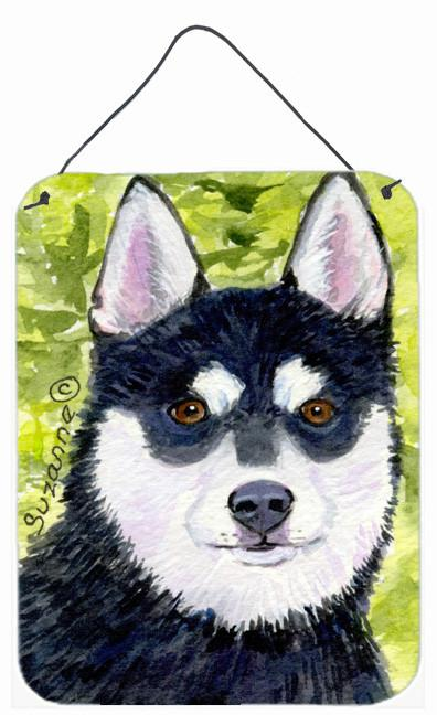 Klee Kai Aluminium Metal Wall or Door Hanging Prints by Caroline's Treasures