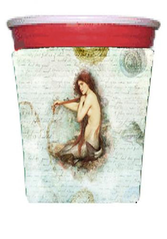 Buy this Mermaids and Mermen  Red Solo Cup Beverage Insulator Hugger