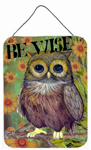 Buy this Be Wise Owl Wall or Door Hanging Prints PJC1029DS1216