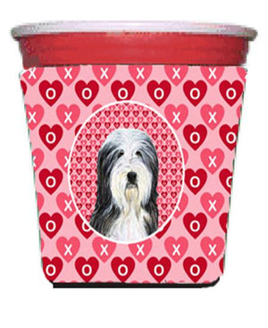 Buy this Bearded Collie  Red Solo Cup Beverage Insulator Hugger