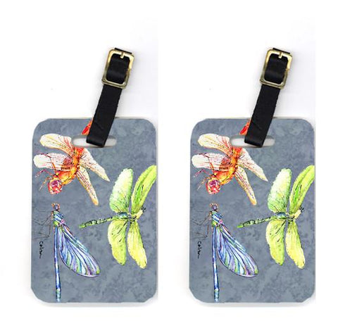 Buy this Pair of Dragonfly Times Three Luggage Tags