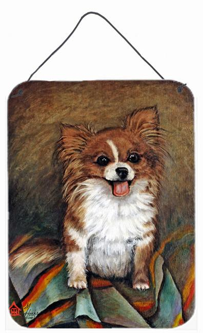Cecilia Chihuahua Long Hair  Wall or Door Hanging Prints MH1039DS1216 by Caroline's Treasures