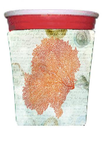 Buy this Coral Pink Red Solo Cup Beverage Insulator Hugger