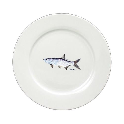 Buy this Tarpon Round Ceramic White Salad Plate 8673-DPW