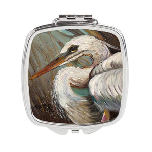 Buy this White Egret Compact Mirror JMK1212SCM