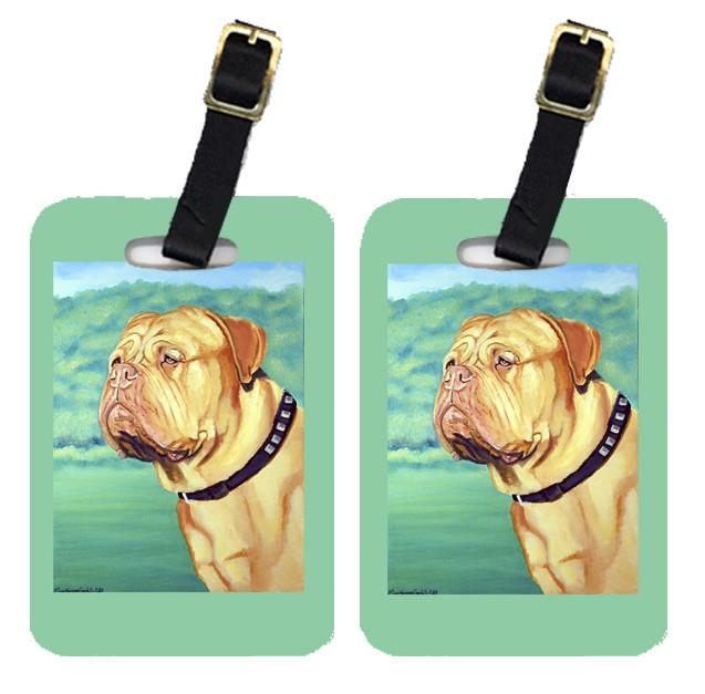 Buy this Pair of 2 Dogue de Bordeaux Luggage Tags