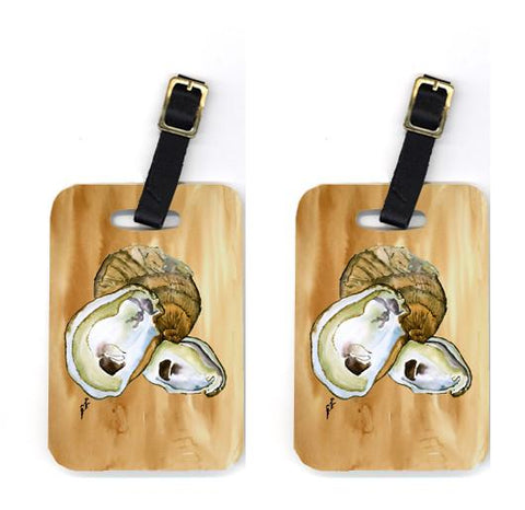 Buy this Pair of Oyster Luggage Tags