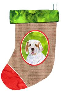 Buy this Clumber Spaniel Christmas Stocking SS2062