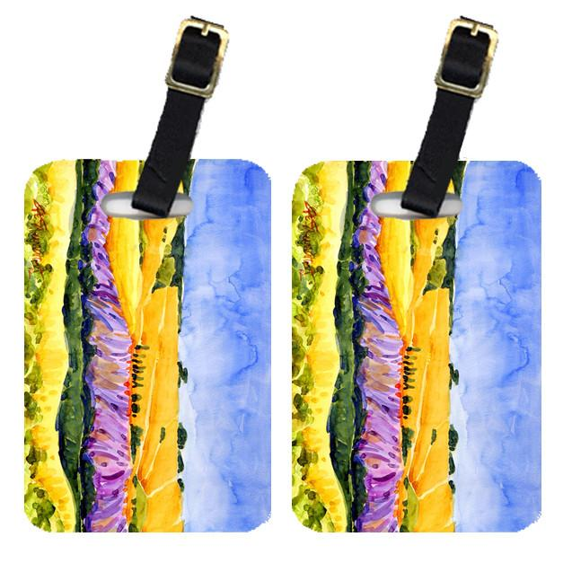 Pair of 2 Landscape Luggage Tags by Caroline's Treasures