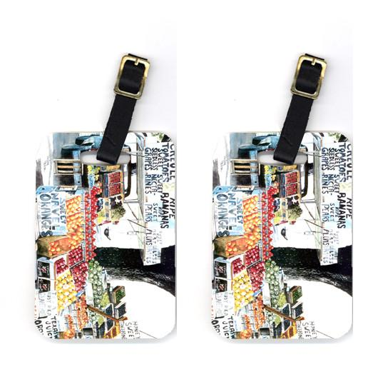 Buy this Pair of Fruit Stand Luggage Tags