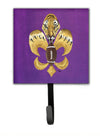 Tiger Football Fleur de lis Leash Holder or Key Hook 8205 by Caroline's Treasures