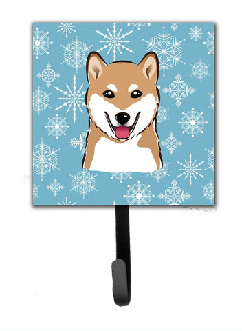 Buy this Snowflake Shiba Inu Leash or Key Holder BB1659SH4