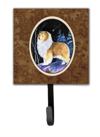 Buy this Starry Night Sheltie Leash Holder or Key Hook