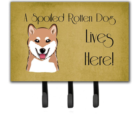 Buy this Shiba Inu Spoiled Dog Lives Here Leash or Key Holder BB1473TH68