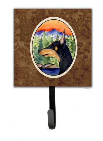 Buy this Manchester Terrier Leash Holder or Key Hook