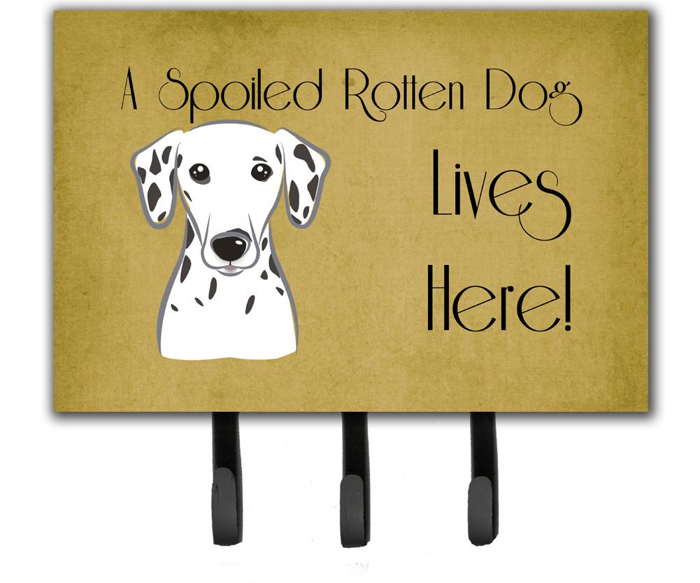 Dalmatian Spoiled Dog Lives Here Leash or Key Holder BB1458TH68 by Caroline's Treasures