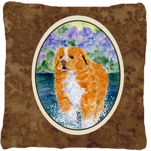 Buy this Nova Scotia Duck Toller Decorative   Canvas Fabric Pillow