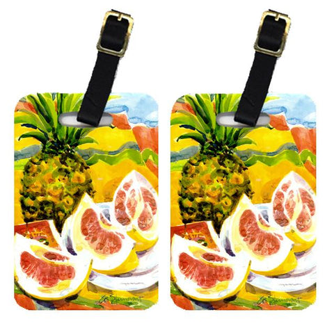 Buy this Pair of 2 Pineapple Luggage Tags