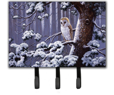 Buy this Owl on a Tree Branch in the Snow Leash or Key Holder BDBA0303TH68