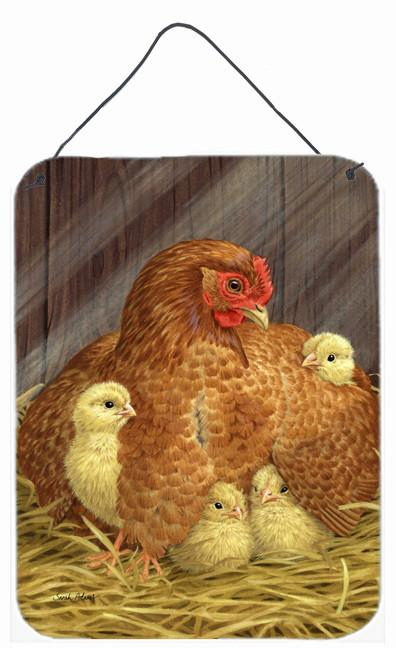 Buy this My Little Chickadees with Hen Chicken Wall or Door Hanging Prints ASA2011DS1216