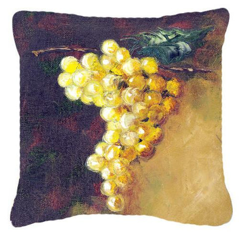 Buy this New White Grapes by Malenda Trick Canvas Decorative Pillow TMTR0152PW1414