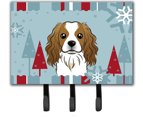 Buy this Winter Holiday Cavalier Spaniel Leash or Key Holder BB1720TH68