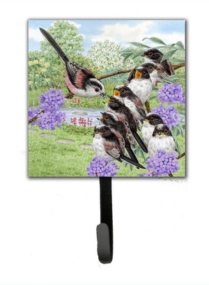 Buy this Long Tailed Tits by Sarah Adams Leash or Key Holder ASAD0690SH4