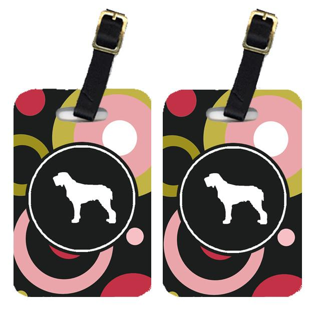 Pair of 2 Italiano Spinone Luggage Tags by Caroline's Treasures