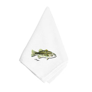 Buy this Small Mouth Bass Napkin 8493NAP