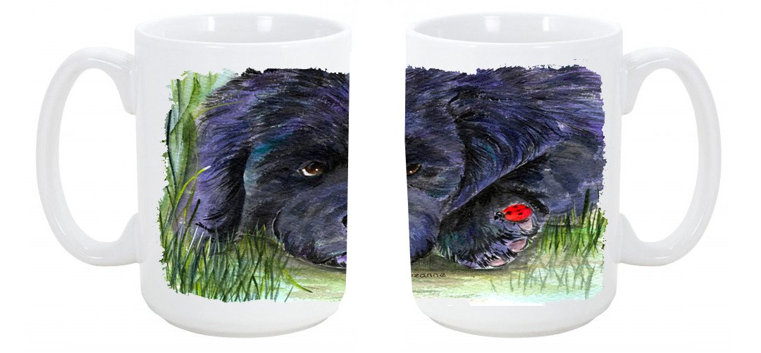 Buy this Newfoundland Dishwasher Safe Microwavable Ceramic Coffee Mug 15 ounce SS8272CM15