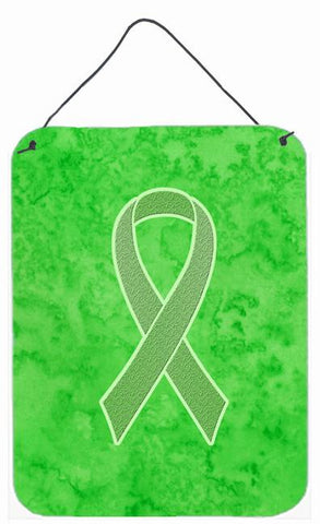 Buy this Lime Green Ribbon for Lymphoma Cancer Awareness Wall or Door Hanging Prints AN1212DS1216