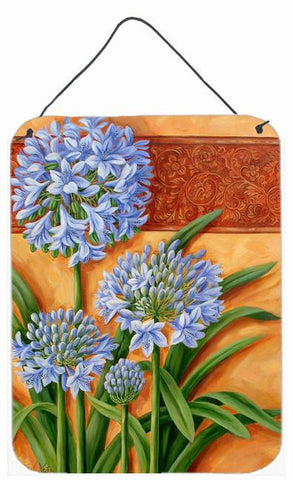 Buy this Agapanthus by Judith Yates Wall or Door Hanging Prints JYJ0072DS1216